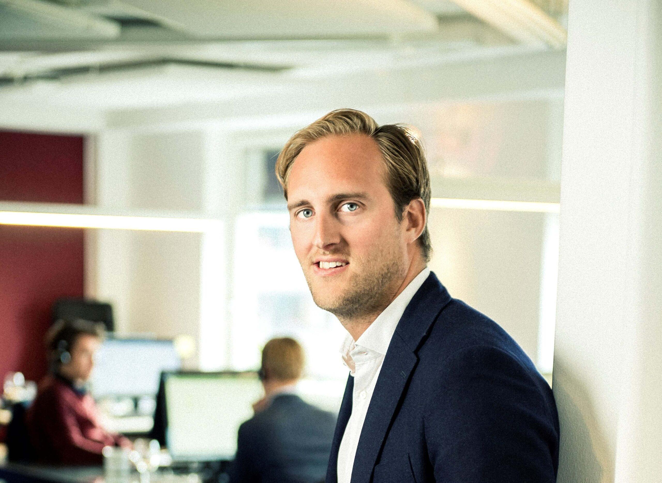 Jonas Ryberg, Vice VD på Consector, ger tips om karriär och lån.