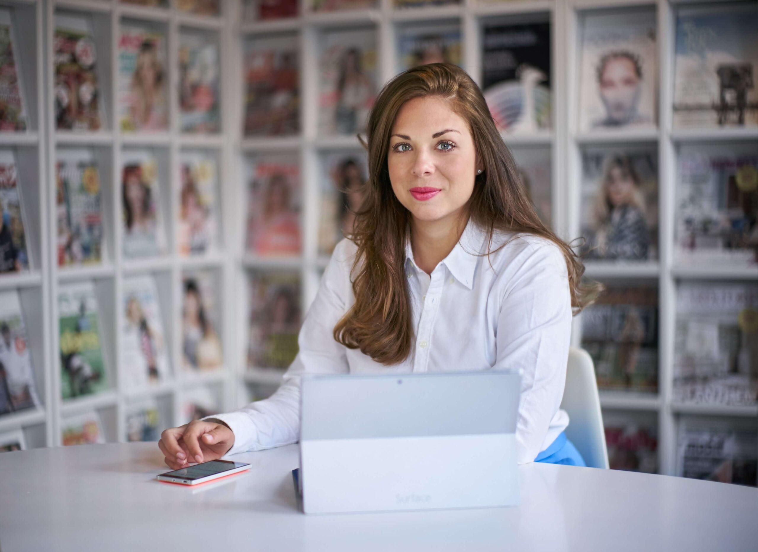 Johanna Snickars, kommunikationschef på Microsoft.