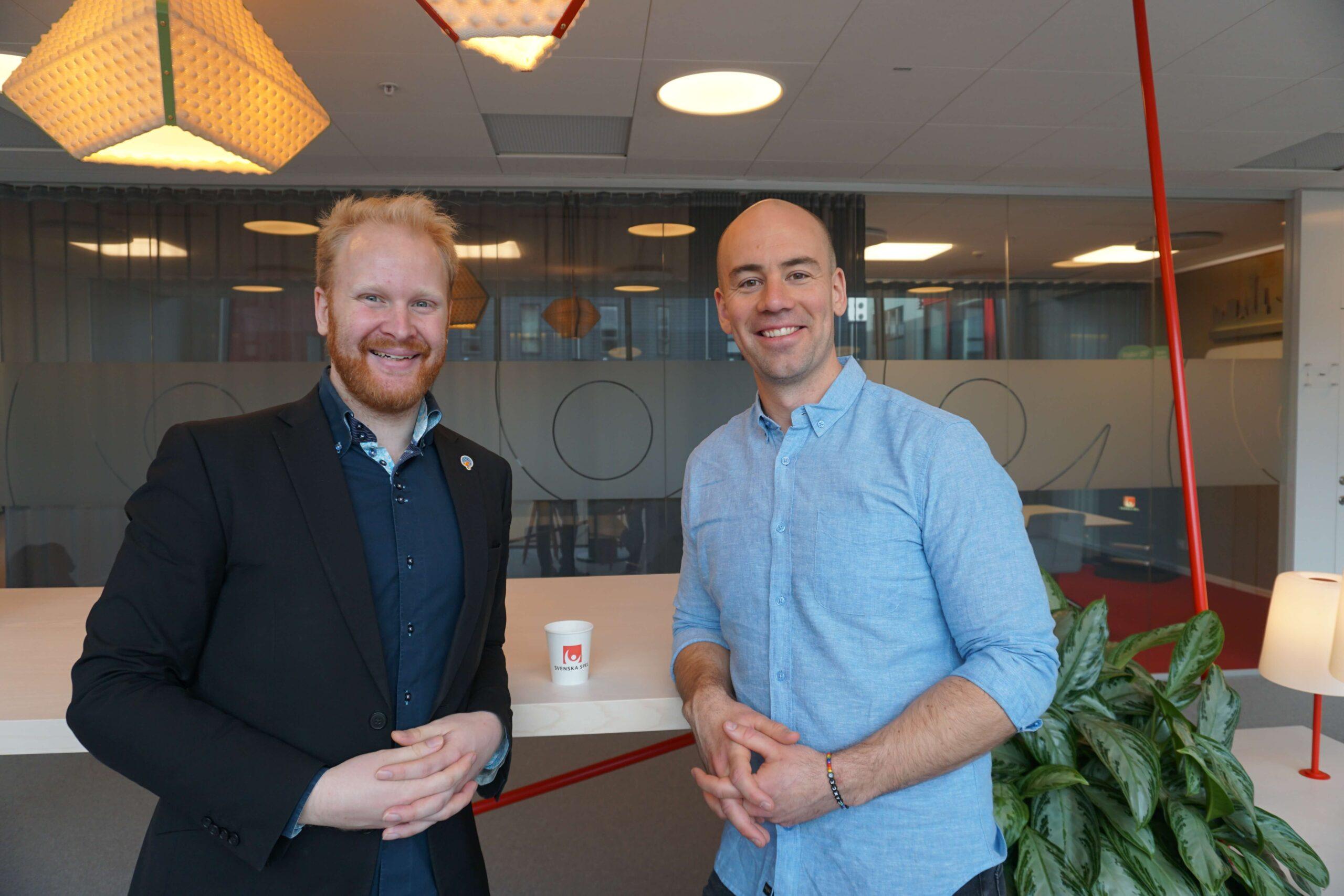 Joakim Karlsson på Svenska Spel ger IT-tips